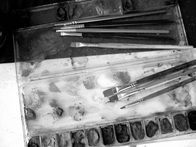 B&w paint box